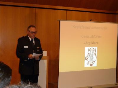 Kreisstabführer Jörg Marx
