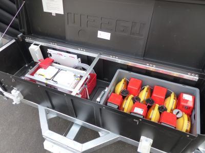 Batterie- und Ladebox des VSA